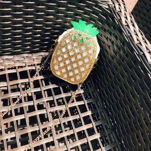 Handbags - 🆕'RIDA' Pineapple glitter purse